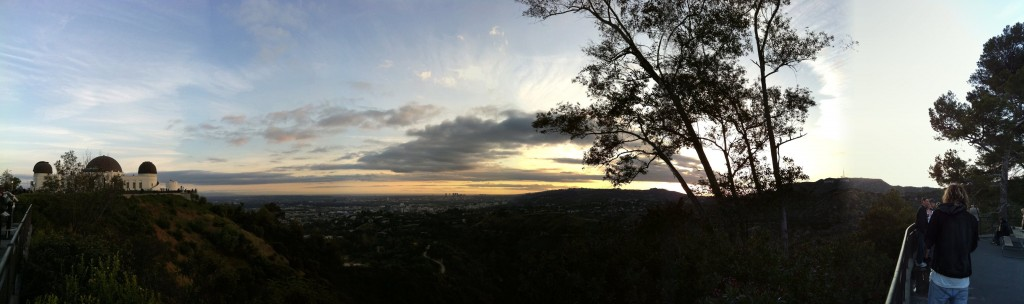 griffith observatory panorama